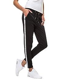 Hachiro Damen Freizeithose Jogginghose Hose Sportswear Style