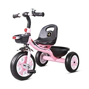 41CmtKeCqKL. SS300 GYF Triciclo per Bambini| 2 in 1 Triciclo per Bambini 3 Ruote Bici da Bambino Bilanciamento Leggero Trike Bicicletta da…