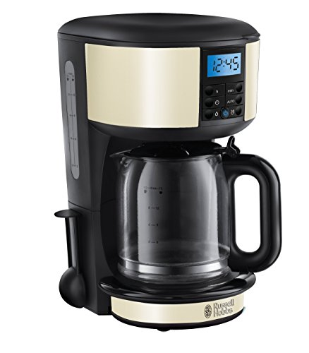 Russell Hobbs Legacy Coffee Maker 20683, 1.25 L - Cream Test