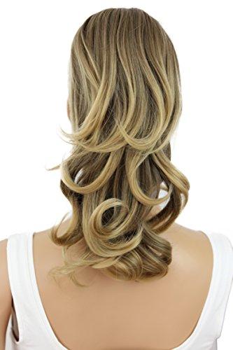 PRETTYSHOP Haarteil Hair Piece Zopf Pferdeschwanz Voluminös ca.35cm Hitzebeständig braun blond mix #8T25 H125