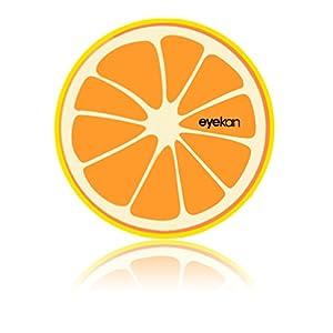 Aufbewahrungsbox für Kontaktlinsen – Reiseset – Box – fruity – mit Orange