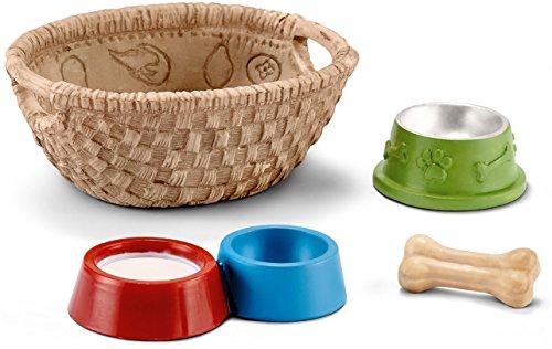Schleich 42293 - Futter für Hunde und Katzen, mehrfarbig (Sammelkarten Hund)