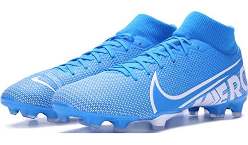 Nike Unisex-Erwachsene Superfly 7 Academy Fg/mg Fußballschuhe, Mehrfarbig (Blue Hero/White-Obsidian 414), 47 EU