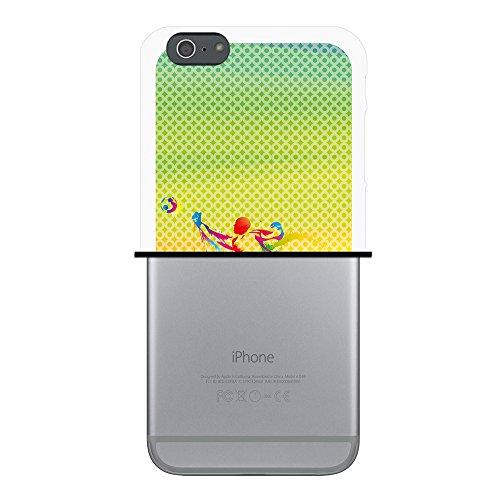 iPhone 6 Plus | 6S Plus Hülle, WoowCase Handyhülle Silikon für [ iPhone 6 Plus | 6S Plus ] Basketball Handytasche Handy Cover Case Schutzhülle Flexible TPU - Transparent Housse Gel iPhone 6 Plus | 6S Plus Transparent D0502