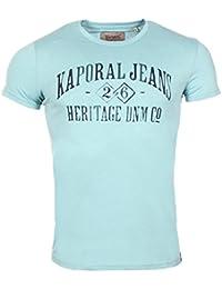 Kaporal Torev - T-shirt - Imprimé - Col ras du cou - Manches courtes - Homme