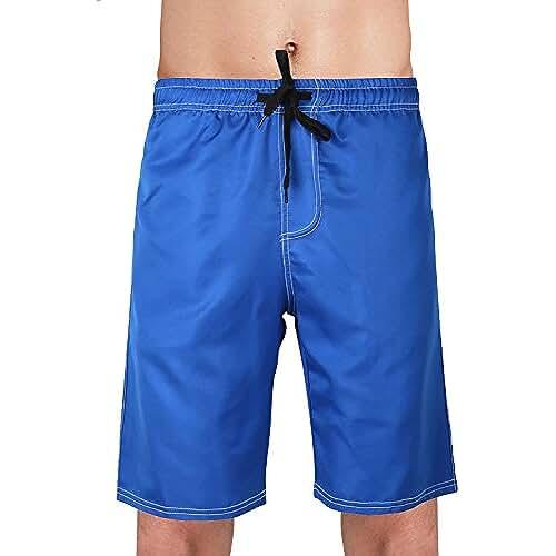 con cord/ón Ajustable Dentro /& Bolsillos con Cremallera Dolamen Ba/ñador de Nataci/ón Boxer para Hombre Hombre Ba/ñador Traje de Ba/ño Pantalones Cortos Playa Piscina tama/ño Plus