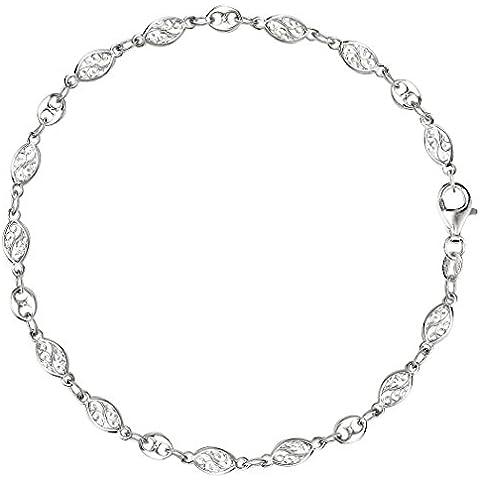 Surtido de filigrana y Mariner Enlace Cadena de plata de ley (9, 10 y 27,94 cm de largo)