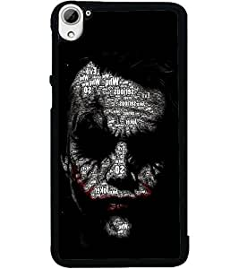 ColourCraft Dangerous Joker Design Back Case Cover for HTC DESIRE 826