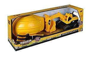 Nikko Kit para Arena, 4Piezas, excavadoras y Accesorios, Amarillo