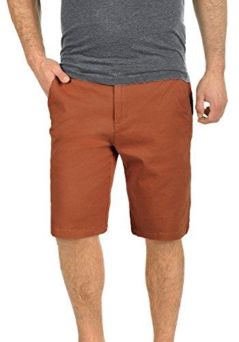 !Solid Lamego Herren Chino Shorts Bermuda Kurze Hose aus Stretch-Material Regular Fit, Größe:XL, Farbe:Fox Brown (6792) Fashion Solid Slim Short