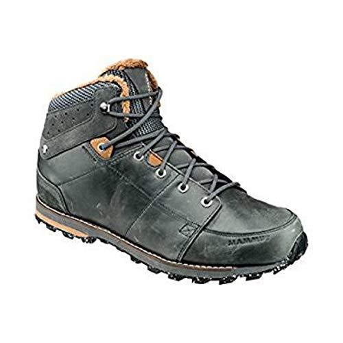 Mammut Herren Chamuera Mid WP Trekking- & Wanderstiefel, Grau (Dark Graphite-Timber 00091), 43 1/3 EU Wp Work Boot