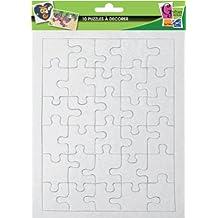 10 puzzles de 30 pièces à décorer - 20 x 13 cm - Graines créatives