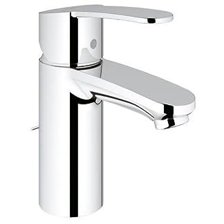 Grohe Eurostyle Cosmopolitan – Grifo de lavabo 1/2″ Tamaño S, color cromo (Ref.3355720E)