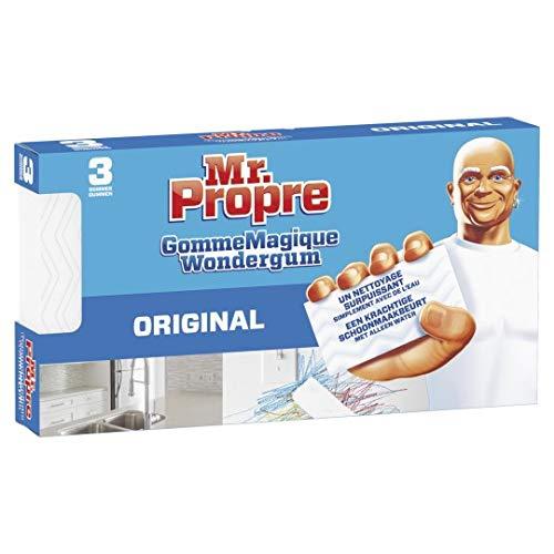 Mr. Propre Gomme Magique Original Nettoyante - Lot de 3