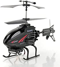 F350 Mini Helicopter Remote Control 2-Channel Damage Resistant Helicopter with LED Light & Gyroscope