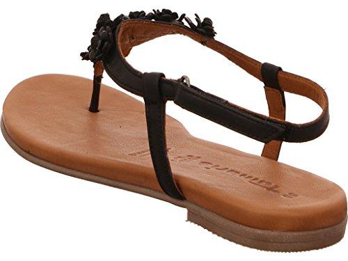 Tamaris Women's Fashion Sandals Schwarz
