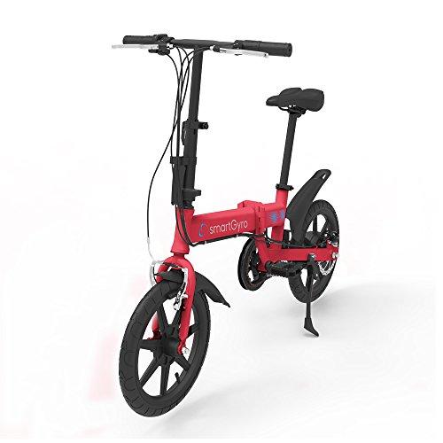 SMARTGYRO Ebike Red - Bicicleta Eléctrica