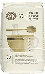 Doves Farm Gluten Free Rice Flour 1 kg (Pack of 5)