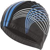 ADream Gorra de natación Sombreros de natación de la Tela de la PU Cascos  de natación 67e12d04164