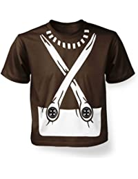 Candy Worker Costume Kids T-shirt