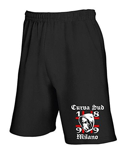 cotton-island-pantalone-tuta-corto-tum0030-ultras-rossoneri-curva-sud-milano-taglia-xxl