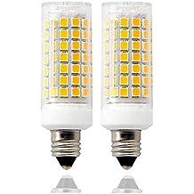 1x E11 zu US E12 Kandelaber Sockel LED Glühbirne Lampe Adapter Convert ZV