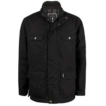 Jack Murphy Johnstown Mens Wax Jacket (3XL, Black)