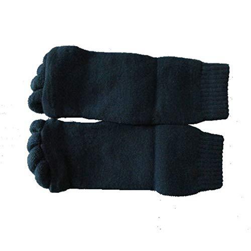 Alineamiento de los dedos de los pies de la moda Hallux Valgus Pro Cuidado de los pies Cure Bunion Calcetín Algodón Separador de cinco dedos Toe Separador Calcetines