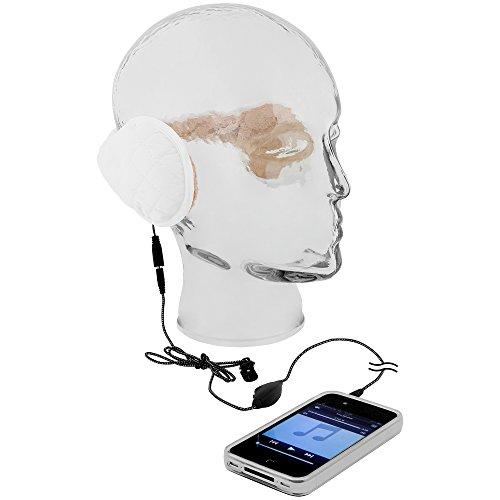 GreatGadgets 1860-2 MP3 Ohrenwärmer weiß