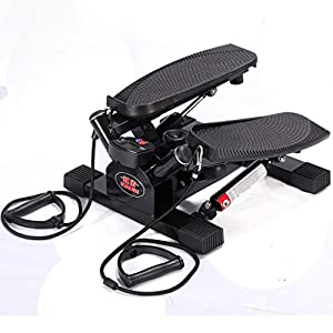 41CnAWVFoaL. SS300  - Lwtbj Mini Stepper Workout Fitness Machine Pulling Rope Sport Exercise Home Gym Exercise Stepper - Fitness Stepper