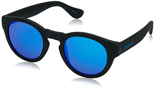 Havaianas Unisex adulto TRANCOSO/M Z0 O9N 49 Gafas de sol, Negro (Black/Blue Blue)