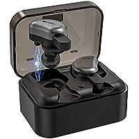 LIFEGOO Mini T Auriculares inalambricos Bluetooth 5.0 Reducción de Ruido con Estuche de Carga Portátil para