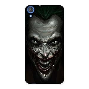 Cute Mad face Multicolor Back Case Cover for HTC Desire 820