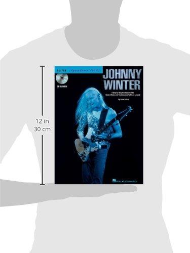 Winter Johnny Signature Licks CD Tab (Guitar Signature Licks)