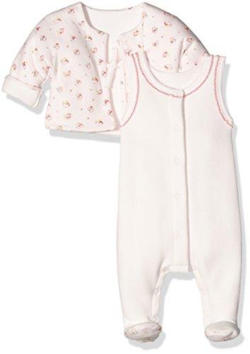Petit Bateau Baby-Mädchen Bekleidungsset Ens DB SM+Vest Rev, Mehrfarbig (Sissi/Multico 22), 80 (Herstellergröße: 12m/74cm)