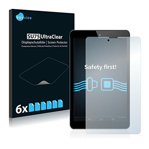 Savvies Schutzfolie kompatibel mit Odys Connect 7 Pro (6 Stück) - ultraklare Bildschirmschutz-Folie