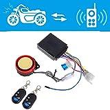 Sistema di allarme antifurto per moto e bici, con telecomando da 125 dB.