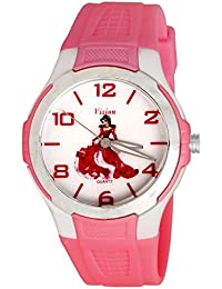 Vizion Analog Multi-Colour Dial (Barbie-The Princess in Red Dress) Cartoon Character Watch for Kids-V-8826-6-2