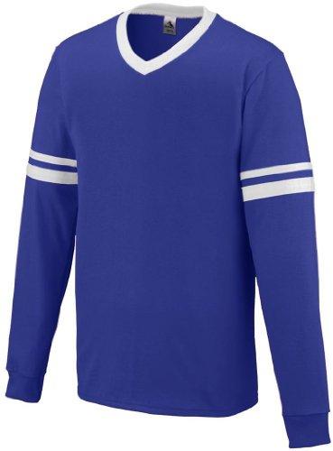 Augusta Herren T-Shirt violett / weiß