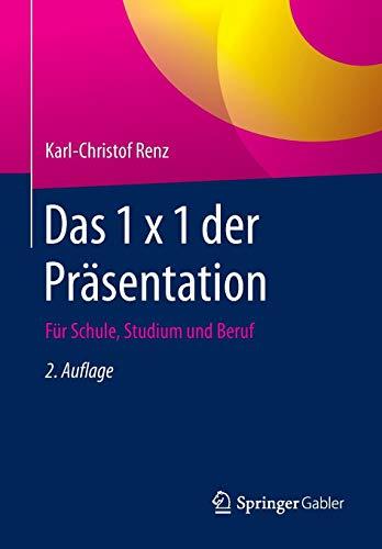 Das 1 x 1 der Präsentation: Für Schule, Studium und Beruf