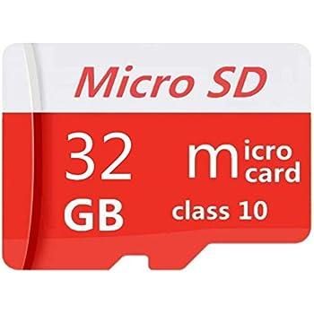 PUNEA Tarjeta Micro SD de 32 GB Tarjeta SD de Memoria Flash Clase 10 de Alta Velocidad con Adaptador SD (32 GB)