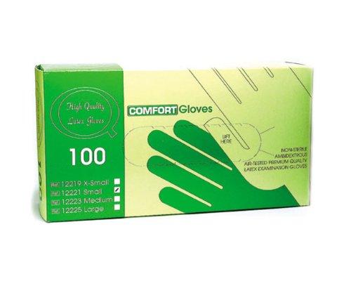 Cesars Handschuhe Latex gepudert Größe L