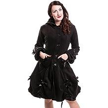 poizen Industries abrigo Alice Coat Black