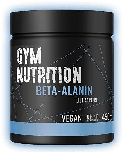Premium Beta Alanin - Hochdosiert - Vegan - Ohne Zusätze - 99% Reinheit - Laborgeprüft - Beliebt bei Sportlern - Made in Germany