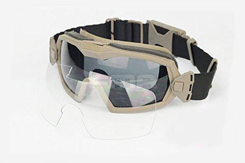 H World EU Fan Version Cooler Airsoft - Gafas esquí