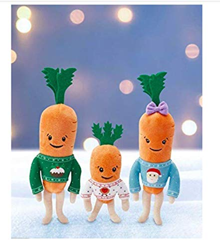 Official Aldi Kevin The Carrot Family - Jasper, Chantenay & Baby