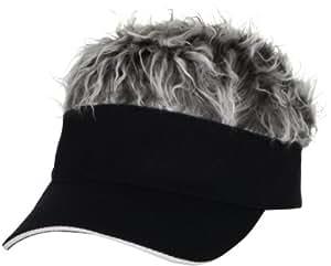 Original Flair Hair Visor, Grey