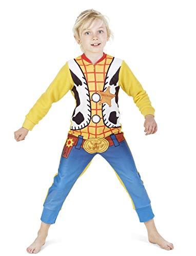 Tuta intera tutina pigiama per bambino bambina paw patrol toy story woody buzz lightyear marvel avengers thomas e i suoi amici 2-8 anni completi neonato (woody, 18-24 mesi)