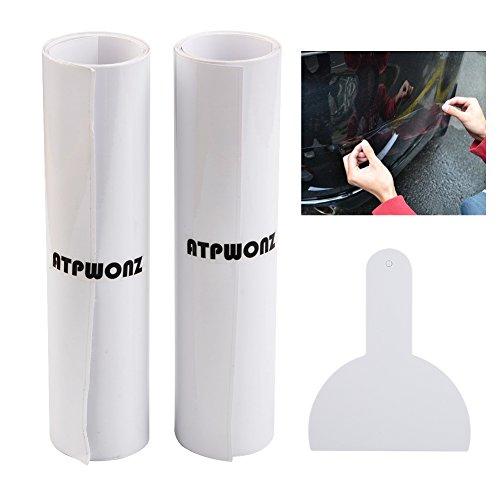 ATPWONZ Pellicola Adesivo Protezione Auto-Protezione Trasparente Della Fibra Adesiva Dell