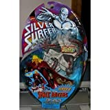 SILVER SURFER ADAM WARLOCK w/ COSMIC SKULL SPACE RACER MOC by Marvel by Marvel